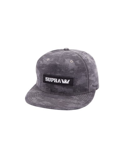 Supra : Mark Patch Snap Camouflage Hat