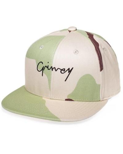 Grimey Natural Camo Snapback