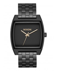 Nixon : Time Tracker I Matte Black/ Gold