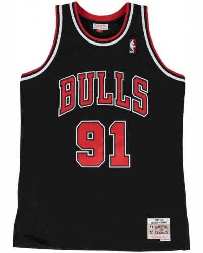 Mitchell and Ness : Dennis Rodman Chicago Bulls 1997-98 Swingman Alternate Jersey
