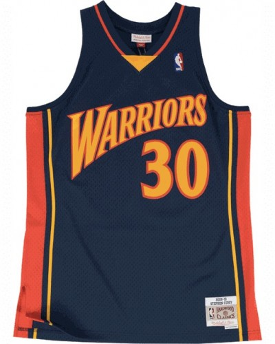 Mitchell and Ness: Road Jersey Warriors 09 Steph Curry