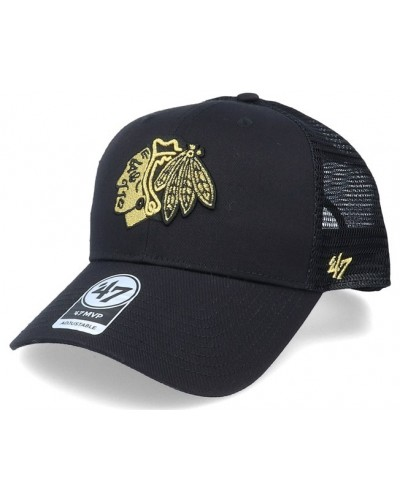 47 'Brand : MVP Trucker Cap Chicago Blackhawks NHL